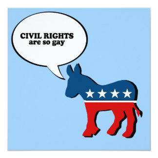 Las derechas civiles son gay anuncios personalizados