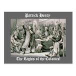 ¡Las derechas de las colonias! Postal