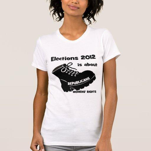 las derechas de las mujeres de la elección 2012 playeras