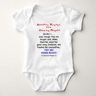 Las derechas del adoptado son derechos HUMANOS Remera
