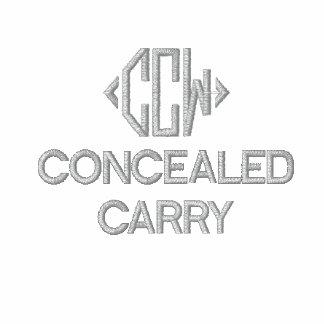 Las derechas del arma del CCW bordaron polo