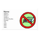 Las derechas del tabaco tarjetas de visita