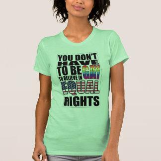 Las derechas iguales para todos camiseta