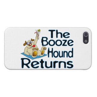 Las devoluciones del perro de los licores iPhone 5 funda