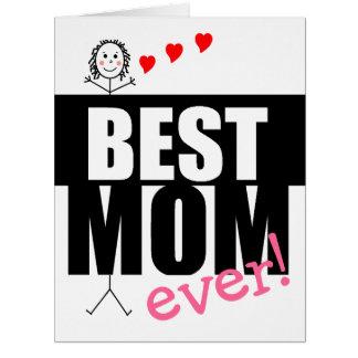Las Día-Cupones de la madre feliz a redimir Tarjeta De Felicitación Grande
