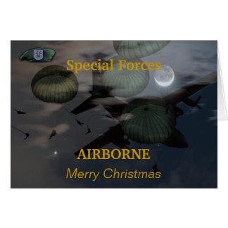las diecinueveavo fuerzas especiales agrupan la tarjeta pequeña