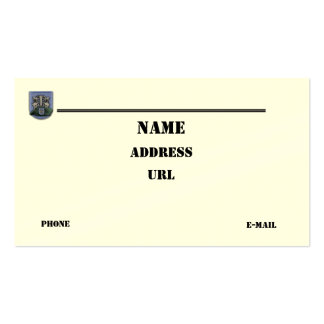 las diecinueveavo fuerzas especiales agrupan la plantillas de tarjeta de negocio