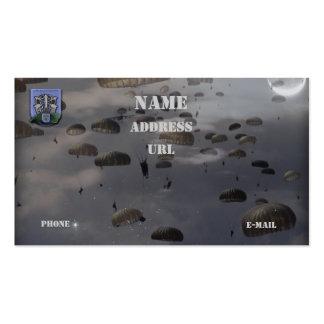 las diecinueveavo fuerzas especiales agrupan la tarjeta de visita