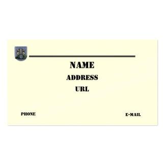 las diecinueveavo fuerzas especiales agrupan la tarjetas de visita