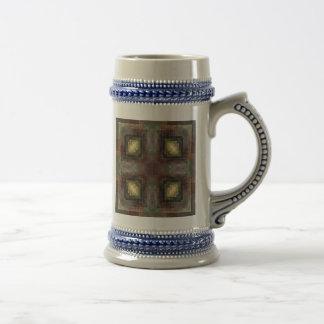 Las dimensiones alternas tejaron el extracto jarra de cerveza