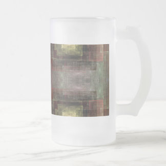 Las dimensiones alternas tejaron el extracto taza de cristal