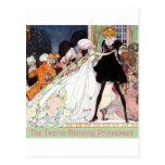 Las doce princesas de baile tarjeta postal
