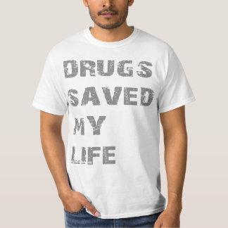 Las drogas ahorraron mi vida poleras