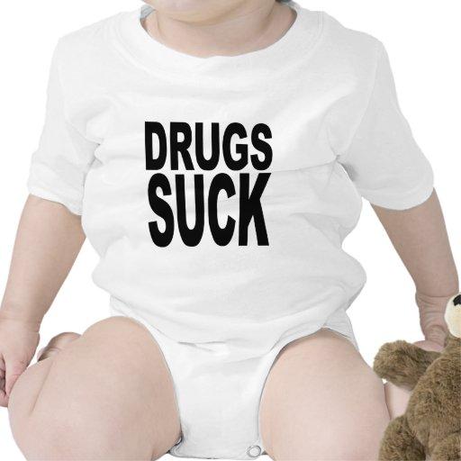 Las drogas chupan camisetas