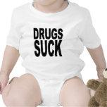Las drogas chupan traje de bebé