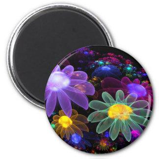 Las duchas de abril trajeron las flores (los produ imán redondo 5 cm