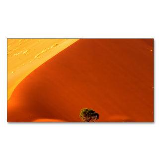Las dunas rojas de Sossusvlei Tarjetas De Visita Magnéticas (paquete De 25)