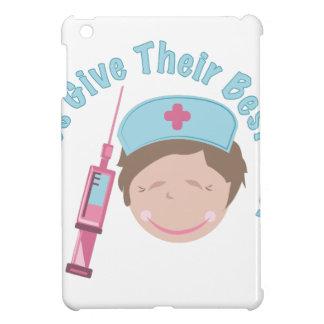 Las enfermeras dan tiros