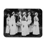 Las enfermeras de la Primera Guerra Mundial llevan Imanes De Vinilo