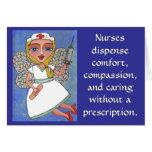 Las enfermeras dispensan la comodidad, compasión…  tarjetón