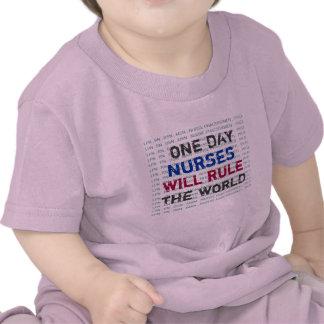 Las ENFERMERAS gobernarán la camiseta de los bebés