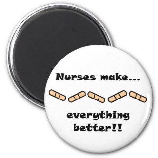 Las enfermeras hacen TODO mejor Imán De Frigorífico