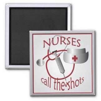 Las enfermeras llaman el imán de la enfermera de