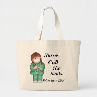 ¡Las enfermeras llaman los tiros La bolsa de asas