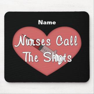 Las enfermeras llaman los tiros (personalizados) tapete de ratones