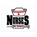 Las enfermeras llaman los tiros tarjetas postales
