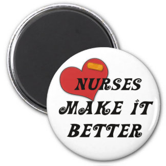 Las enfermeras lo hacen mejor iman de nevera