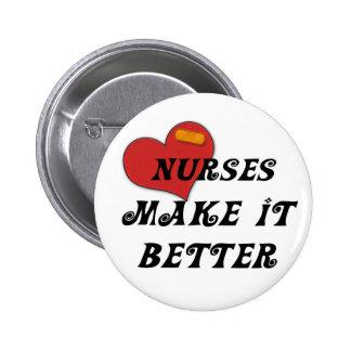 Las enfermeras lo hacen mejor pins