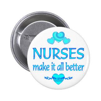 Las enfermeras lo hacen mejor pin