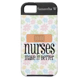 Las enfermeras lo hacen mejor, vendaje iPhone 5 carcasas