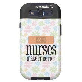 Las enfermeras lo hacen mejor, vendaje galaxy SIII fundas