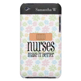 Las enfermeras lo hacen mejor, vendaje iPod Case-Mate carcasas