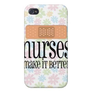 Las enfermeras lo hacen mejor, vendaje iPhone 4 funda