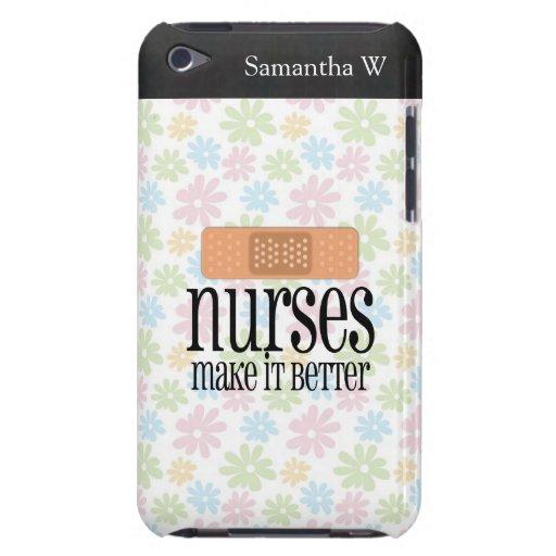 Las enfermeras lo hacen mejor, vendaje iPod touch Case-Mate carcasa
