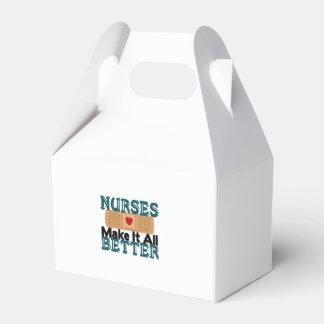Las enfermeras lo hacen todo mejor cajas para regalos de fiestas