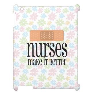 Las enfermeras lo hacen un vendaje mejor, lindo de