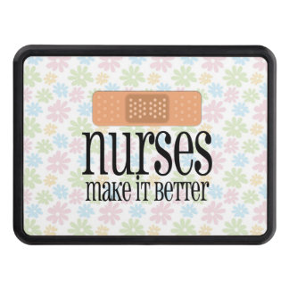 Las enfermeras lo hacen un vendaje mejor, lindo de tapas de remolque