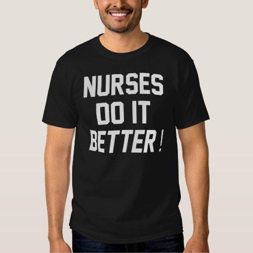 Las enfermeras mejora playera