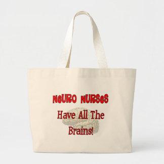 """Las enfermeras neuras """"tienen los regalos de todos bolsa tela grande"""