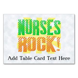 Las enfermeras oscilan enfermera anaranjada verde