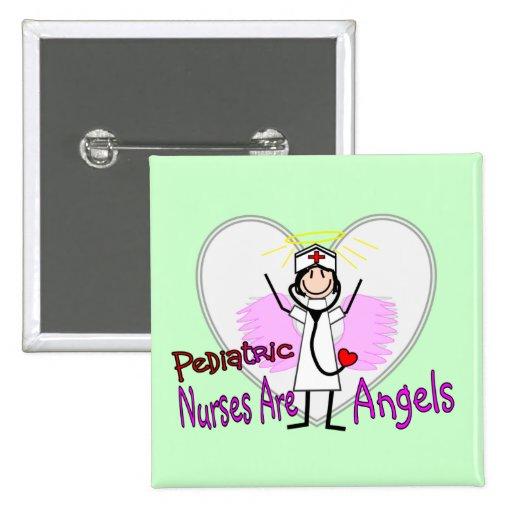 Las enfermeras pediátricas son ángeles pin