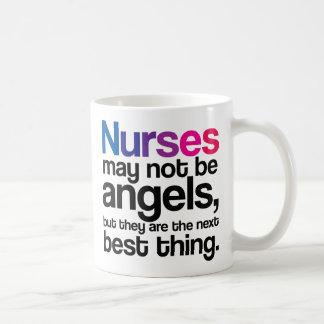 Las enfermeras pueden no ser taza de café de los á