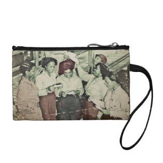 Las enfermeras reciben el correo WWII