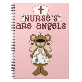 Las enfermeras son ángeles cuadernos
