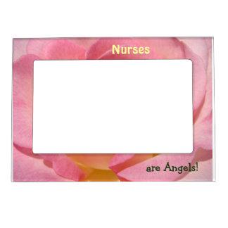 ¡Las enfermeras son ángeles! la foto magnética enm Foto De Imanes