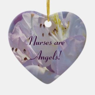 ¡Las enfermeras son ángeles regalos que cuelgan e Adornos